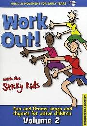 Sticky Kids - Work Out! Volume 2 (CD)