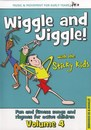 Sticky Kids - Wiggle and Jiggle! Volume 4 (CD) Cover