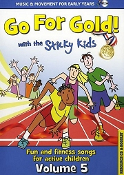Sticky Kids - Go For Gold! Volume 5 (CD)