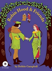 Robin Hood And Friends - By Debbie Campbell Cover