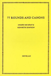 77 Rounds And Canons (For 4 Voices) - Kenneth Simpson Cover