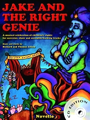 Jake And The Right Genie (Score/CD) - Richard Allain/Thomas Allain Cover