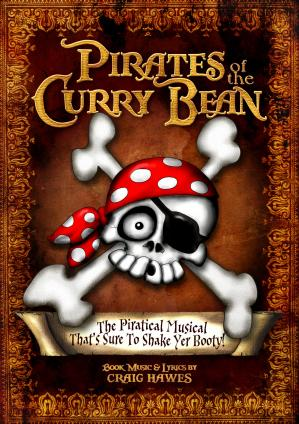 Pirates Of The Curry Bean - By Craig Hawes Cover