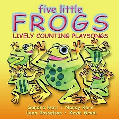 Playsongs Five Little Frogs - CD