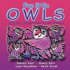 Playsongs Five Little Owls - CD