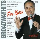 Pocket Songs Backing Tracks CD - Broadway Hits for Bass