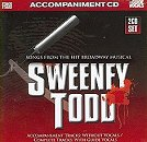 Stage Stars Backing Tracks CD - Sweeney Todd (Songs from the Hit Broadway Musical)