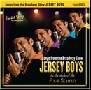 Pocket Songs Backing Tracks CD - Jersey Boys, Songs from the Broadway Show Cover