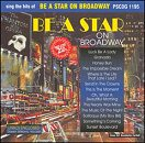 Pocket Songs Backing Tracks CD - Be A Star On Broadway