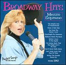 Pocket Songs Backing Tracks CD - Broadway Hits for Mezzo Soprano