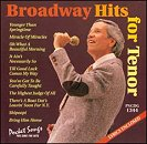 Pocket Songs Backing Tracks CD - Broadway Hits for Tenor