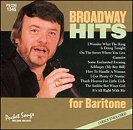 Pocket Songs Backing Tracks CD - Broadway Hits for Baritone