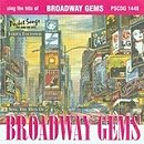 Pocket Songs Backing Tracks CD - Broadway Gems