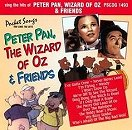 Pocket Songs Backing Tracks CD - Peter Pan, Wizard of Oz and Friends Cover