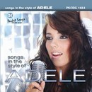 Pocket Songs Backing Tracks CD - Adele, Songs in the Style of