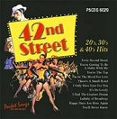 Pocket Songs Backing Tracks CD - 42nd Street 20's, 30's and 40's Hits