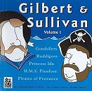 Stage Stars Backing Tracks CD - Gilbert and Sullivan Volume 1 Cover