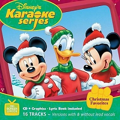 Pocket Songs Backing Tracks CD - Christmas Favourites, Disney