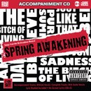 Stage Stars Backing Tracks CD - Spring Awakening, Songs from the Hit Broadway Musical (2 CD Set)