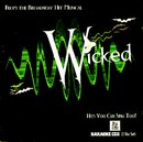Stage Stars Backing Tracks CD - Wicked, Songs from the Broadway Hit Musical (2 CD Set)