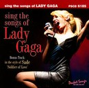 Pocket Songs Backing Tracks CD - Lady Gaga, Sing the Songs of Cover