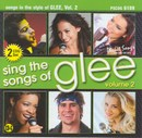 Pocket Songs Backing Tracks CD - Glee, Volume 2, Sing the Songs of (2 CD Set)