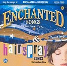 Pocket Songs Backing Tracks CD - Enchanted and Hairspray