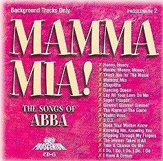 POCKET SONGS BACKING TRACKS CD MAMMA MIA! | Backing Track