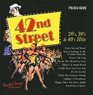 POCKET SONGS BACKING TRACKS CD 42ND STREET 20'S, 30'S AND 40'S HITS