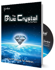Blue Crystal, The - By Nick Perrin Cover