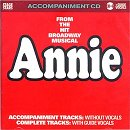 Stage Stars Backing Tracks CD - Annie