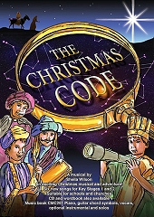 Christmas Code, The - Sheila Wilson Cover