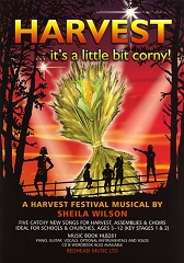 Harvest ... It's A Little Bit Corny! - By Sheila Wilson Cover
