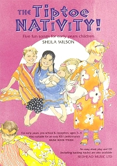 Tiptoe Nativity! - Sheila Wilson Cover