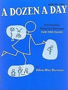 A Dozen A Day Book One: Primary Cover