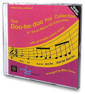 The Doo-be-doo Pop Collection of Vocal Warm-Up Exercises - CD with Printable Piano Score Cover